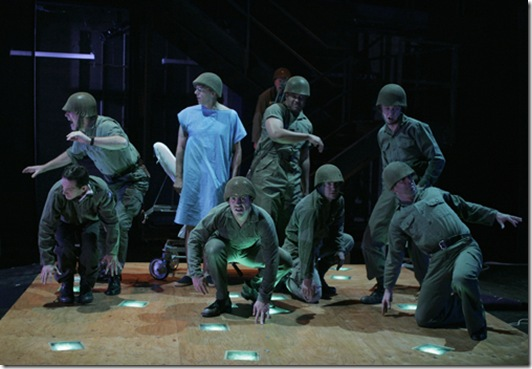 The Dream of the Black Soldier, from the 2006 Empty Space production of LOUIS SLOTIN SONATA, starring Paul Morgan Stetler as Slotin.
