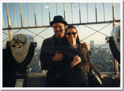 Paul and Heather Mullin on Empire State Building