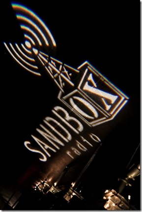 Sandbox Radio Gobo