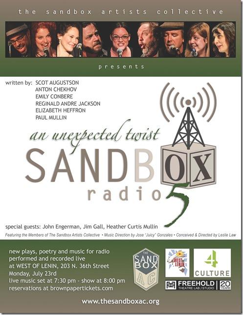 Sandbox Radio Live - Episode 5 Poster