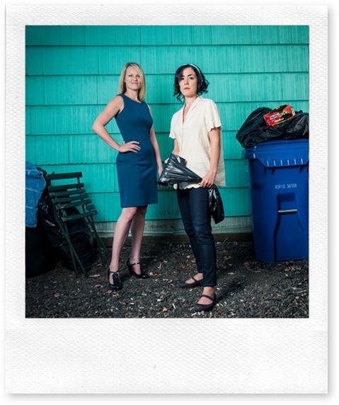 Rebecca Olson and Hana Lass in BALLARD HOUSE DUET photo credit LaRae Lobdell