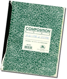 Comp book journal