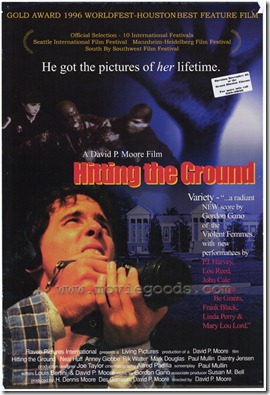 hitting the ground poster