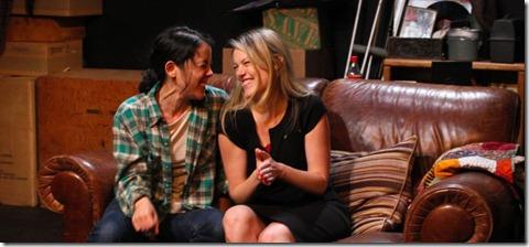 Hana Lass and Rebecca Olson in the world premiere of BALLARD HOUSE DUET
