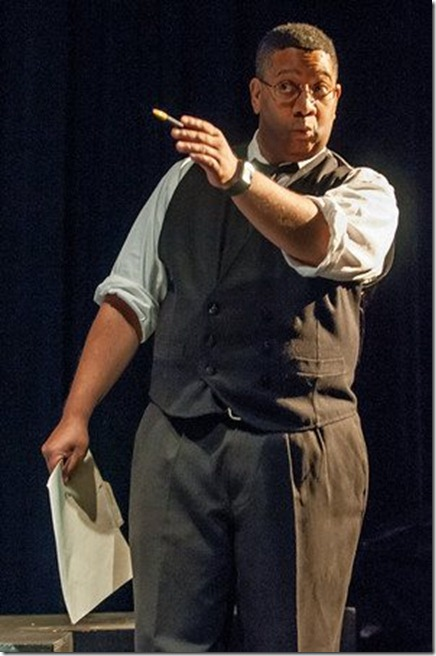 Bob Williams in ReAct's recent production of THE BREAK OF NOON